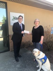 Brian H. Clark Donating to Cricket Center